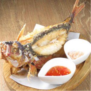 大曽根の沖縄料理居酒屋[うりずん]でグルクンを食す!